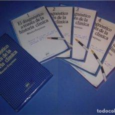 Libros: EL DIAGNÓSTICO A TRAVÉS DE LA HISTORIA CLÍNICA. 5 TOMOS. LABORATORIO SALVAT. IDEPSA 1983. MEDICINA. Lote 87617348