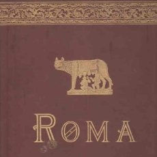 Libros: ROMA - NO CONSTA AUTOR. Lote 88161010
