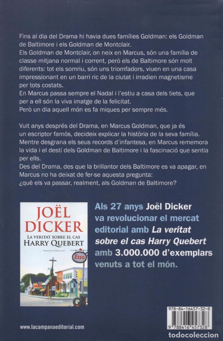Libros: EL LLIBRE DELS BALTIMORE de JOEL DICKER - LA CAMPANA, 2016 - Foto 2 - 88165580