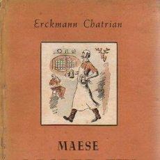Livros em segunda mão: MAESE GASPAR FIX - ERCKMANN-CHATRIAN. Lote 88166476