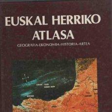 Libros: EUSKAL HERRIKO ATLASA - NO CONSTA AUTOR. Lote 88194170