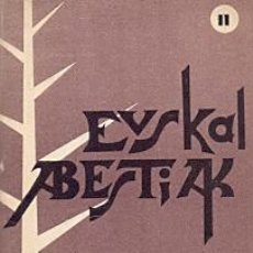 Libros: EUSKAL ABESTIAK - NO CONSTA AUTOR. Lote 88194670