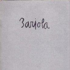 Libros: BARJOLA - NO CONSTA AUTOR. Lote 88211516