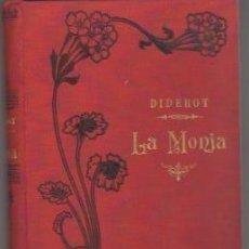 Livres: LA MONJA - DIDEROT. Lote 88232064