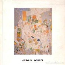 Libros: JUAN MIEG - NO CONSTA AUTOR. Lote 88255935