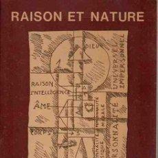 Libros: RAISON ET NATURE - TORRES-GARCÍA, JOAQUIN. Lote 88258847