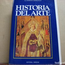 Libros: HISTORIA DEL ARTE.- J.J. MARTIN GONZALEZ.- EDITORIAL GREDOS.- 4ª. EDIC. 1986.- TOMO I.- ARTE ANTIGUO. Lote 194228850