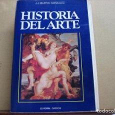 Libros: HISTORIA DEL ARTE.- J.J. MARTIN GONZALEZ.- EDITORIAL GREDOS.- 4ª. EDIC. 1986.- TOMO II.- ARTE MODER-. Lote 194228978