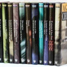 Libros: CRHISTIE, AGATHA: MAESTROS DEL CRIMEN Y MISTERIO (12 VOLS.) (RBA) (CB). Lote 89422876