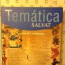 Libros: LENGUA Y LITERATURA - TEMATICA SALVAT -. Lote 89616756