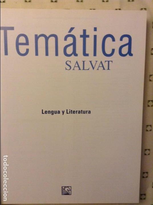 Libros: LENGUA Y LITERATURA - TEMATICA SALVAT - - Foto 3 - 89616756