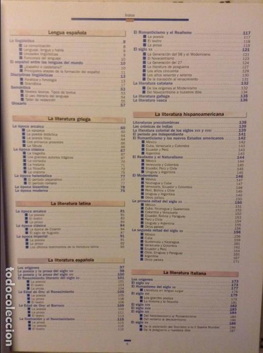 Libros: LENGUA Y LITERATURA - TEMATICA SALVAT - - Foto 4 - 89616756