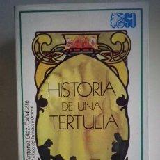 Livros em segunda mão: ANTONIO DÍAZ CAÑABATE-HISTORIA DE UNA TERTULIA-EDITORIAL ESPASA-CALPE. Lote 89817120