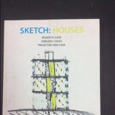 Libros: SKETCH HOUSES PROYECTAR CASAS. Lote 89648356