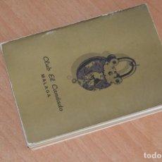 Libros: ANTIGUO LIBRO / ESTATUTOS CLUB PUERTO EL CANDADO DE MÁLAGA - AÑOS 70 - INTERESANTE - HAZ OFERTA. Lote 90332204
