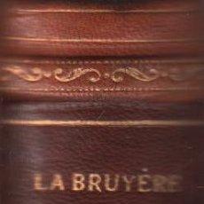 Libros: LES CARACTERES - LA BRUYERE / MUNDI-2297 . BUEN ESTADO. Lote 91059305