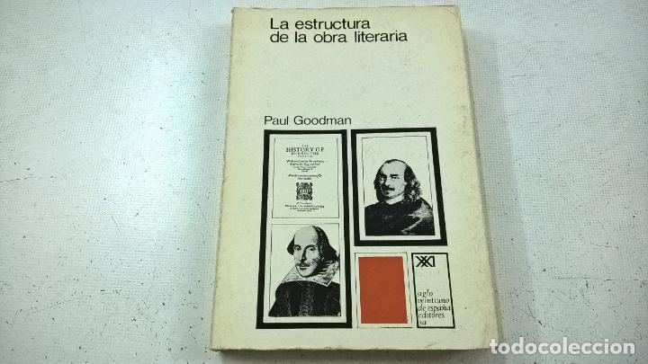 La Estructura De La Obra Literaria Paul Goodman N