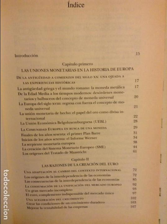 Libros: EL EURO. HISTORIA DE UNA IDEA (YVES-THIBAULT DE SILGUY) - Foto 4 - 91487965