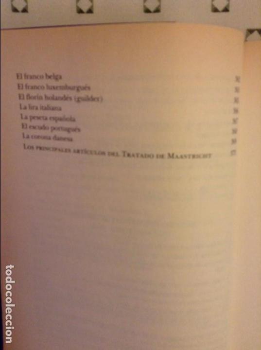 Libros: EL EURO. HISTORIA DE UNA IDEA (YVES-THIBAULT DE SILGUY) - Foto 7 - 91487965