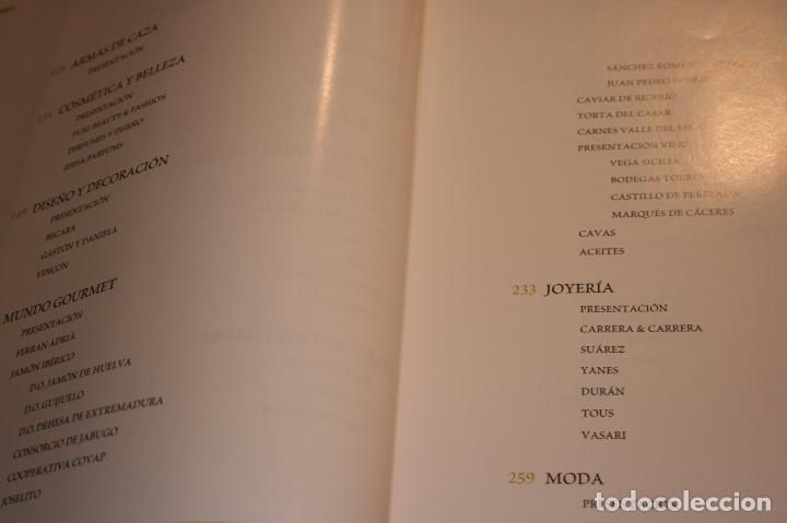 Libros: Lujos de España. cien empresas de prestigio reconocidas internacionalmente.2006-415 páginas - Foto 3 - 91849990