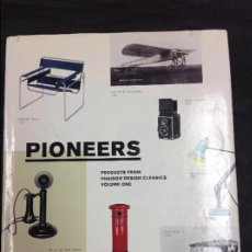 Libros: PIONEERS ( PRODUCTS FROM PHAIDON DESIGN CLÁSICOS VOLÚMENES ONE). Lote 94265780