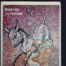 Livres: SONETOS ALREDEDOR DE PLATERO Y YO. Lote 184640791