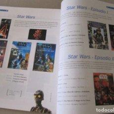 Libros: CATALOGO GRUPO EVEREST 374 PAGINAS STAR WARS WALT DISNEY TOM Y JERRY PUBLICACIONES COLECCIONES. Lote 95184243
