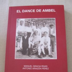 Libros: LIBRO EL DANCE DE AMBER CENTRO DE ESTUDIOS BORJIANOS BORJA GRACIA RIVAS ARAGON PEREZ. Lote 95343071
