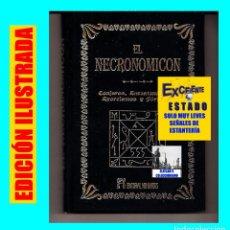 Libros: EL NECRONOMICON - CONJUROS, ENCANTAMIENTOS, EXORCISMOS Y FÓRMULAS - HUMANITAS - EXCELENTE. Lote 95487891