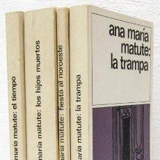 Libros: MATUTE, ANA Mª: LA TRAMPA / LOS HIJOS MUERTOS / EL TIEMPO / FIESTA AL NOROESTE (DESTINO) (CB). Lote 95600971
