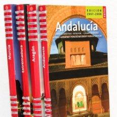 Libros: GUÍAS DE ESPAÑA 2007-2008 (4 VOLS.) (METRÓPOLI) (CB). Lote 95615131