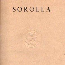 Libros: SOROLLA - NO CONSTA AUTOR. Lote 95661298
