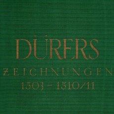 Libros: DIE ZEICHNUNGEN ALBRECHT DÜRERS. BANDS I Y II. 1503-1510/11 & 1484-1502 - WINKLER, FRIEDRICH. Lote 95661322