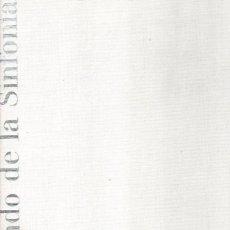 Libros: EL MUNDO DE LA SINFONÍA - RAUCHHAUPT, URSULA VON. Lote 95661334