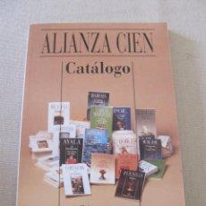 Libros: ALIANZA CIEN CATALOGO ALIANZA EDITORIAL. Lote 95668903