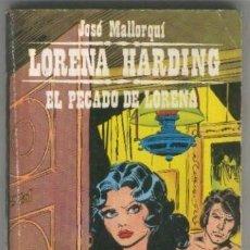 Libros: LORENA HARDING NUMERO 07: EL PECADO DE LORENA. Lote 95716900