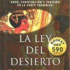 Libros: LA LEY DEL DESIERTO – CHRISTIAN JACQ. Lote 95716903
