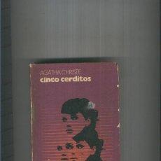 Libros: CINCO CERDITOS. MUERTE EN LAS NUBES. Lote 95716926