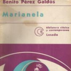 Libros: MARIANELA – BENITO PÉREZ GALDÓS. Lote 95716947