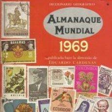 Libros: ALMANAQUE MUNDIAL 1969 – EDUARDO CÁRDENAS (DIR.). Lote 95716975
