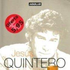 Libros: JESÚS QUINTERO, VEINTICUATRO ENTREVISTAS – JESÚS QUINTERO. AGUILAR. Lote 95717027