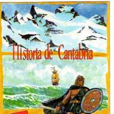 Libros: HISTORIA ILUSTRADA DE CANTABRIA - PÉREZ-BUSTAMENTE Y GONZÁLEZ DE LA VEGA, ROGELIO. Lote 95789450