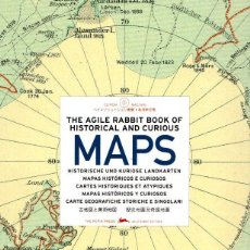 Libros: THE AGILE RABBIT BOOK OF HISTORICAL AND CURIOUS MAPS - NO CONSTA AUTOR. Lote 95789462