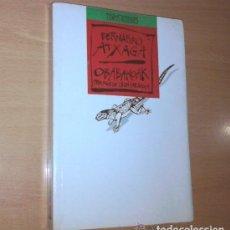 Libros: BERNARDO ATXAGA - OBABAKOAK - BARCELONA, EDICIONES B. Lote 95789887