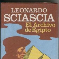 Libros: CLUB BRUGUERA NUMERO 020: EL ARCHIVO DE EGIPTO. Lote 95790547