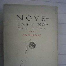 Libros: ANDRENIO-NOVELAS Y NOVELISTAS-CASA EDITORIAL CALLEJA. Lote 95788176