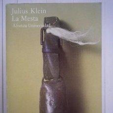 Libros: JULIUS KLEIN-LA MESTA-ALIANZA EDITORIAL. Lote 95788630