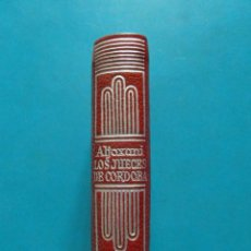 Libros: MINI LIBRO HISTORIA DE LOS JUECES DE CORDOBA. ALJOXANI. EDITORIAL AGUILAR. COLECCION CRISOL Nº 022 .. Lote 95887031