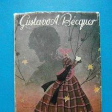 Libros: MINI LIBRO RIMAS. GUSTAVO ADOLFO BECQUER. EDITORIAL AFRODISIO AGUADO. 5ª EDICION 1954. Lote 95887491