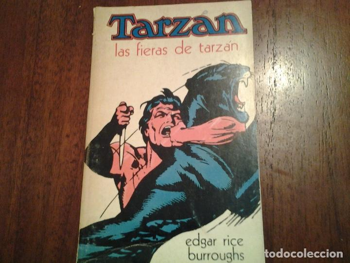 Libros: EL REGRESO DE TARZAN - LAS FIERAS DE TARZAN - EL HIJO DE TARZAN - EDITORIAL NOVARO - AÑO 1972 - Foto 3 - 96698695
